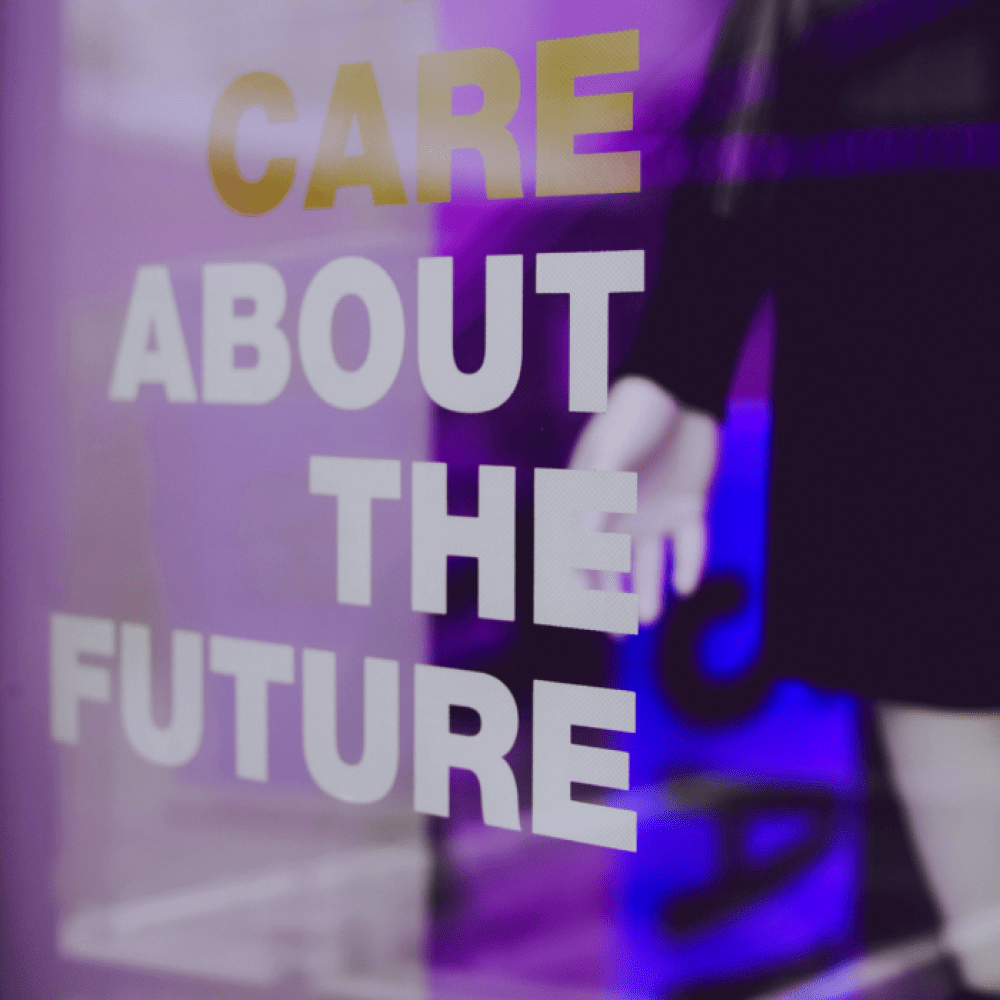 Care about the future